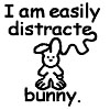 I am easily distracte-BUNNY!